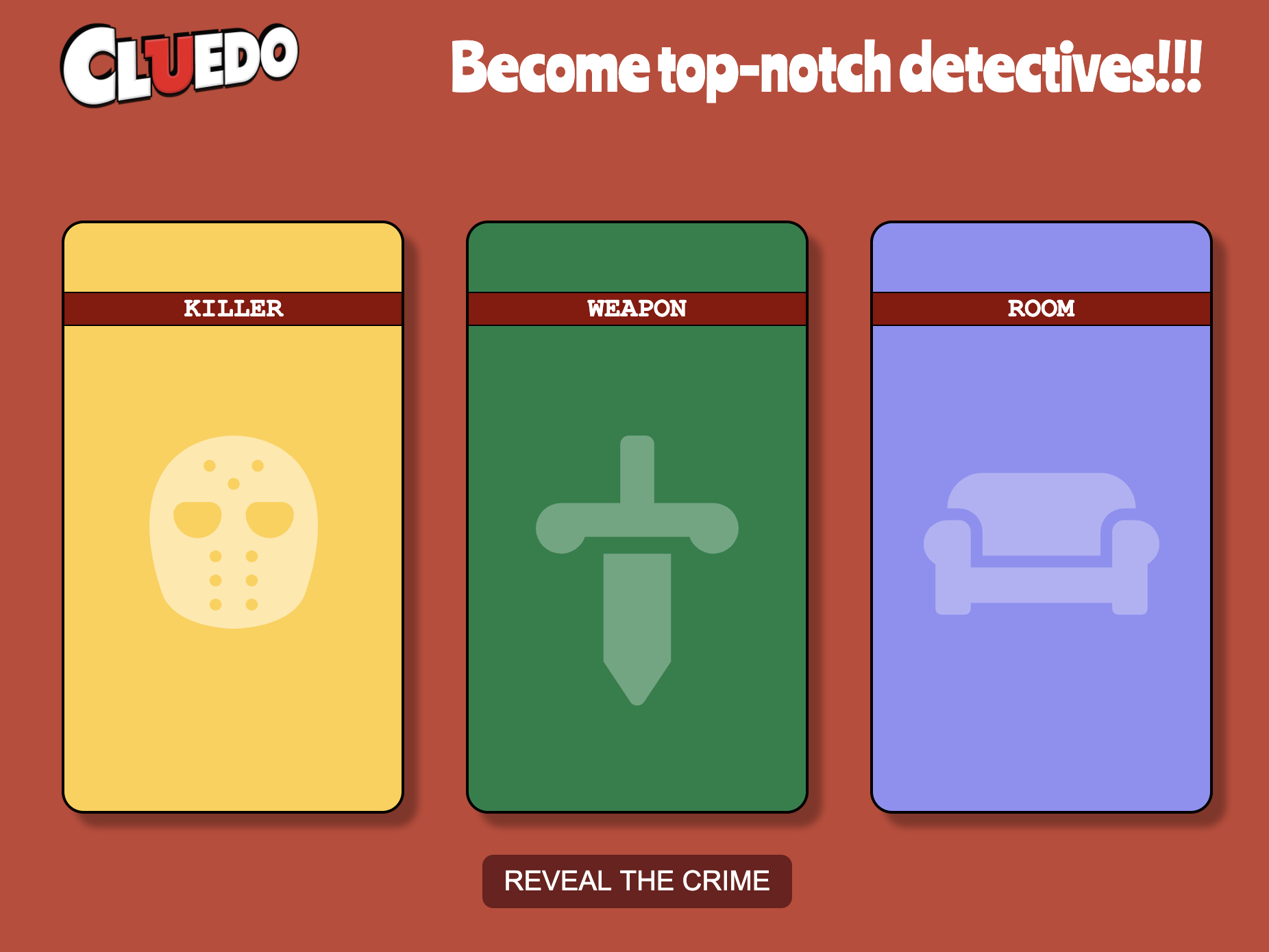 Image of cluedo game